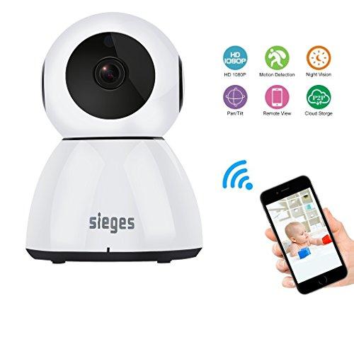 Wireless WIFI camera, zeetopin 1080p HD bewakingscamera