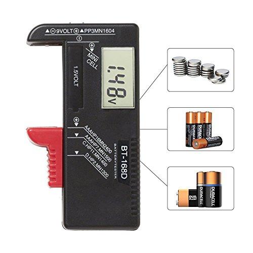 digitaler batterietester batterie testger t und akku. Black Bedroom Furniture Sets. Home Design Ideas