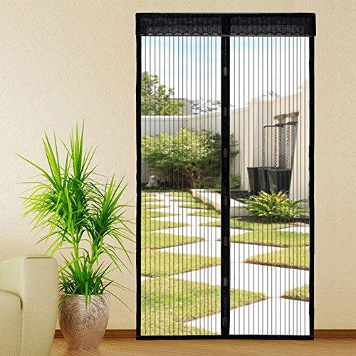 extsud magnet fliegengitter t r insektenschutz 100 220 cm magnetischer fliegenvorhang. Black Bedroom Furniture Sets. Home Design Ideas