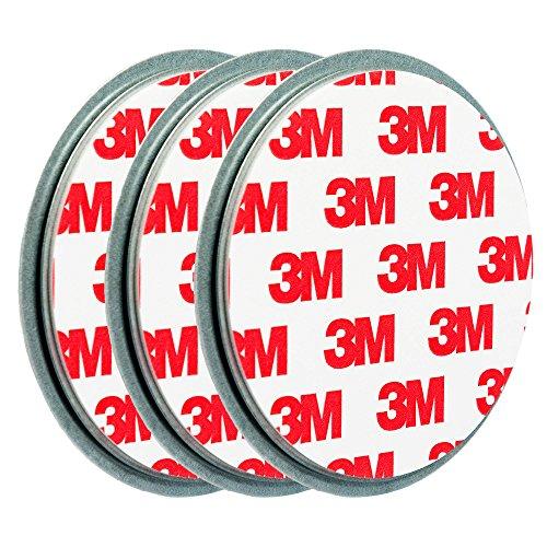 3x ecence magnetbefestigung magnethalter f r rauchmelder 45020108003 nakilep. Black Bedroom Furniture Sets. Home Design Ideas