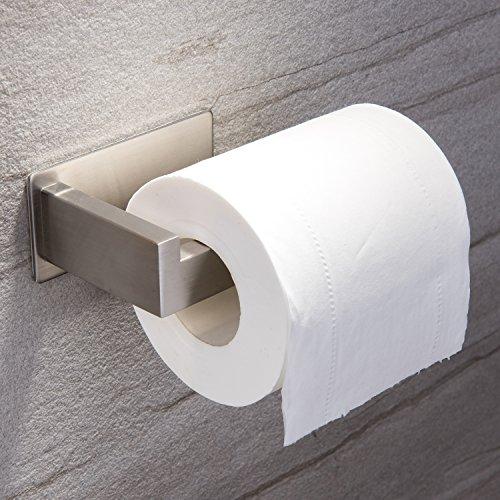 ruicer toilettenpapierhalter ohne bohren klopapierhalter selbstklebend papierhalter edelstahl. Black Bedroom Furniture Sets. Home Design Ideas