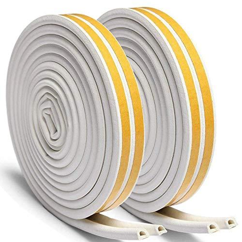 fensterdichtungen 2 rollen dichtungsstreifen d profil gummidichtung f r t ren und fenster und. Black Bedroom Furniture Sets. Home Design Ideas