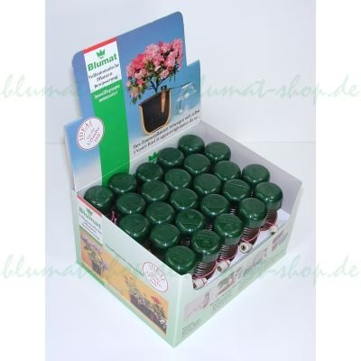 terracotta//grün  für Wein Flaschen Bio Green Pflanzen Bewässerung Wine Tonkegel