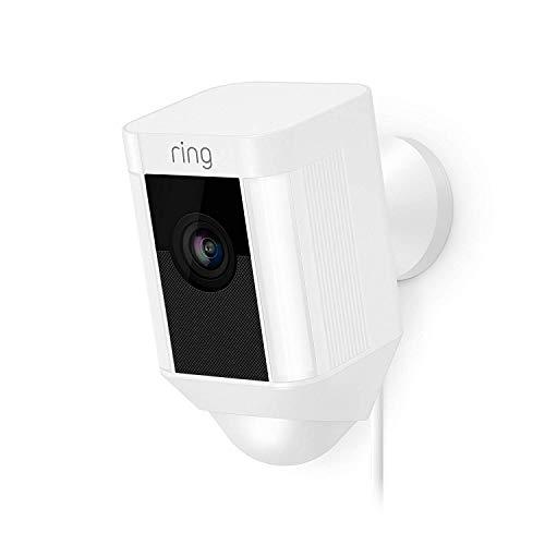 ring spotlight cam kabelgebunden nakilep. Black Bedroom Furniture Sets. Home Design Ideas